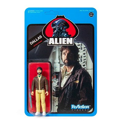 Aliens ReAction Action Figure Wave 3 Dallas (Blue Card) 10 cm