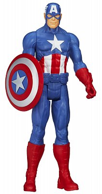 Avengers Assemble Titan Hero Series Action Figure Captain America 30 cm --- DAMAGED PACKAGING