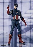 Avengers: Endgame S.H. Figuarts Action Figure Captain America Cap VS. Cap Edition 15 cm