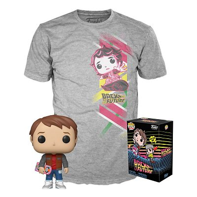 Back to the Future POP! & Tee Box Marty heo Exclusive