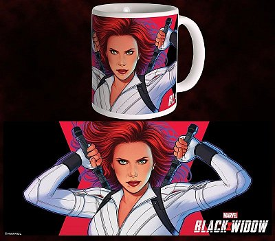 Black Widow Movie Mug White Widow