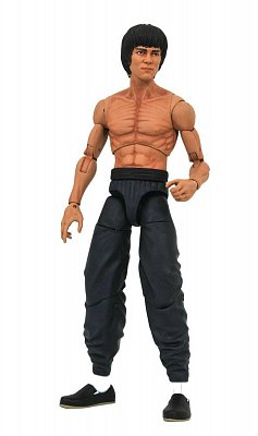 Bruce Lee Select Action Figure Bruce Lee Shirtless 18 cm
