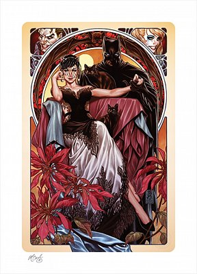 DC Comics Art Print Batman & Catwoman 46 x 61 cm - unframed