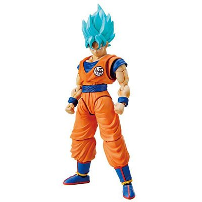Dragonball Super Figure-rise Standard Plastic Model Kit Super Saiyan God Super Saiyan Son Goku 18 cm --- DAMAGED PACKAGING