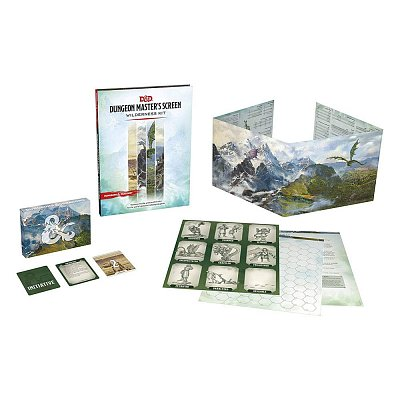 Dungeons & Dragons RPG Dungeon Master\'s Screen Wilderness Kit english