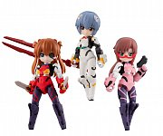 Evangelion Desktop Army Figures 8 cm Assortment Movie Version (3)