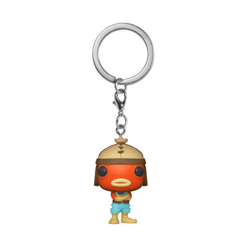 Fishstick Figure Keychain Fortnite Funko Pocket Pop BRAND NEW OFFICIAL