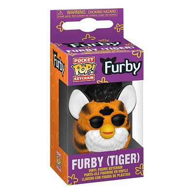 Furby Pocket POP! Vinyl Keychains 4 cm Tiger Furby Display (12)