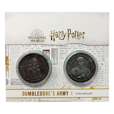 Harry Potter Collectable Coin 2-pack Dumbledore\'s Army: Neville & Luna Limited Edition
