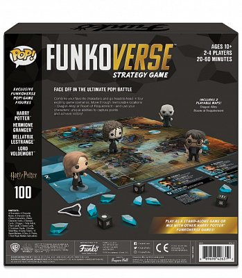 Harry Potter Funkoverse Board Game 4 Character Base Set *French Version* --- DAMAGED PACKAGING