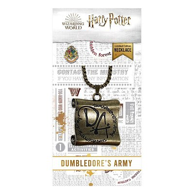 Harry Potter Necklace Dumbledore\'s Army Limited Edition