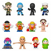 Hasbro Retro Toys Mystery Minis Vinyl Mini Figures 6 cm Display Retro (12)