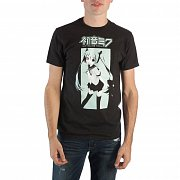 Hatsune Miku T-Shirt Aqua Graphic