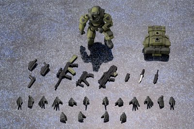 Hexa Gear Plastic Model Kit 1/24 Early Governor Vol. 1 Jungle Type 8 cm