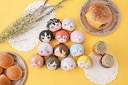 Idolish7 Fluffy Squeeze Bread Anti-Stress Figures 8 cm Assortment (8) --- DAMAGED PACKAGING
