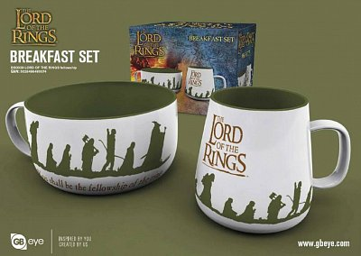 Lord of the Rings Breakfast Set Fellowship