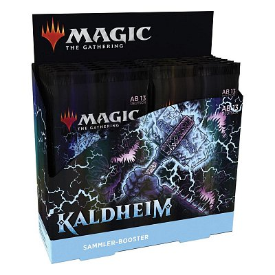 Magic the Gathering Kaldheim Collector Booster Display (12) german