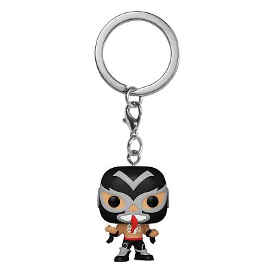 Marvel Luchadores Pocket POP! Vinyl Keychains 4 cm Venom Display (12)