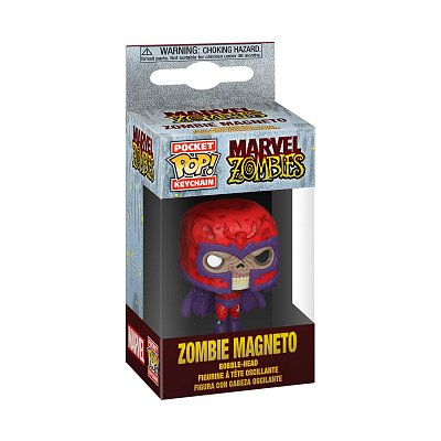Marvel Pocket POP! Vinyl Keychain Zombie Magneto 4 cm