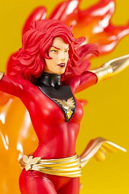 Marvel Universe ARTFX+ Statue 1/10 Phoenix Furious Power (Red Costume) 24 cm --- DAMAGED PACKAGING