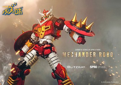 Mechander Robo Action Figure Mechander Robo 23 cm --- DAMAGED PACKAGING