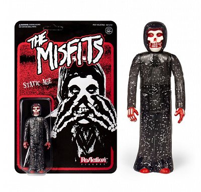 Misfits ReAction Action Figure The Fiend (Static Age) 10 cm --- DAMAGED PACKAGING