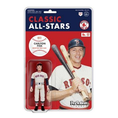 MLB Classic ReAction Action Figure Carlton Fisk (Boston Red Sox) 10 cm