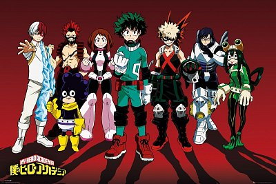 My Hero Academia Poster Pack Line Up 61 x 91 cm (5)