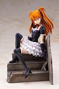 Neon Genesis Evangelion PVC Statue 1/7 Asuka Sohryu Langley Gothic & Lolita Costume ver. 18 cm --- DAMAGED PACKAGING