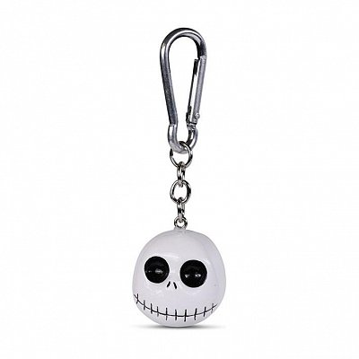 Nightmare before Christmas 3D-Keychains Head 4 cm Case (10)