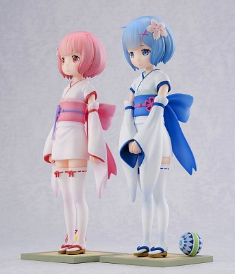 Re:ZERO -Starting Life in Another World- PVC Statues 1/7 Rem & Ram Osanabi no Omoide 18 cm