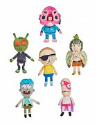 Rick and Morty Plush Figures 32 cm Assortment (6)