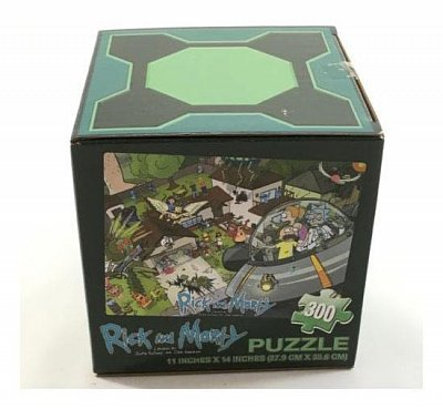 Rick and Morty Puzzle LC Exclusive --- DAMAGED PACKAGING