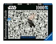Star Wars Challenge Jigsaw Puzzle Darth Vader & Stormtroopers (1000 pieces) --- DAMAGED PACKAGING