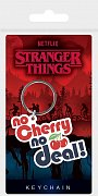 Stranger Things Rubber Keychains No Cherry No Deal 6 cm Case (10)