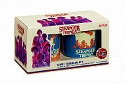 Stranger Things Tumbler Glass 2-Pack Come Again Soon