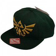 The Legend of Zelda Snap Back Baseball Cap Embroided Gold Logo