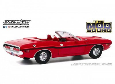 The Mod Squad Diecast Model 1/18 1970 Dodge Challenger R/T Convertible