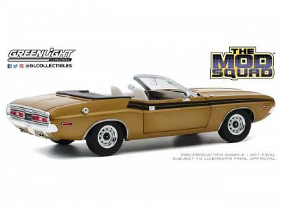 The Mod Squad Diecast Model 1/18 1971 Dodge Challenger 340 Convertible