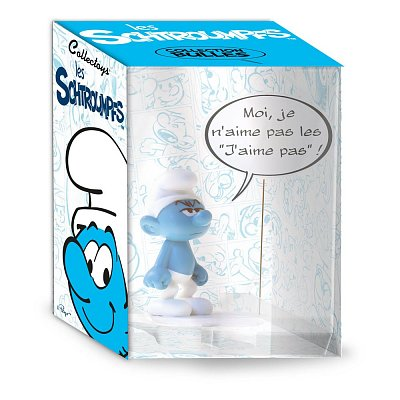 The Smurfs Collectoys Comics Speech Statue Grouchy Smurf 22 cm *French Version*