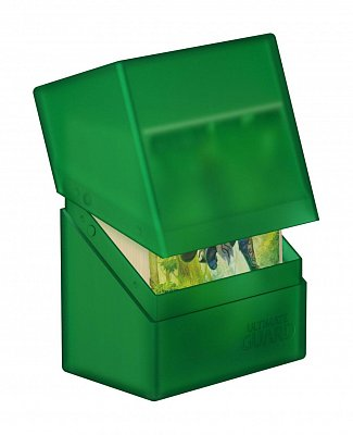 Ultimate Guard Boulder™ Deck Case 60+ Standard Size Emerald