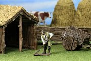 WizKids 4D Settings: Medieval Farmer --- DAMAGED PACKAGING