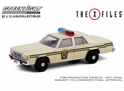 X-Files Diecast Model 1/64 1983 Ford LTD Crown Victoria Lardis MD Police